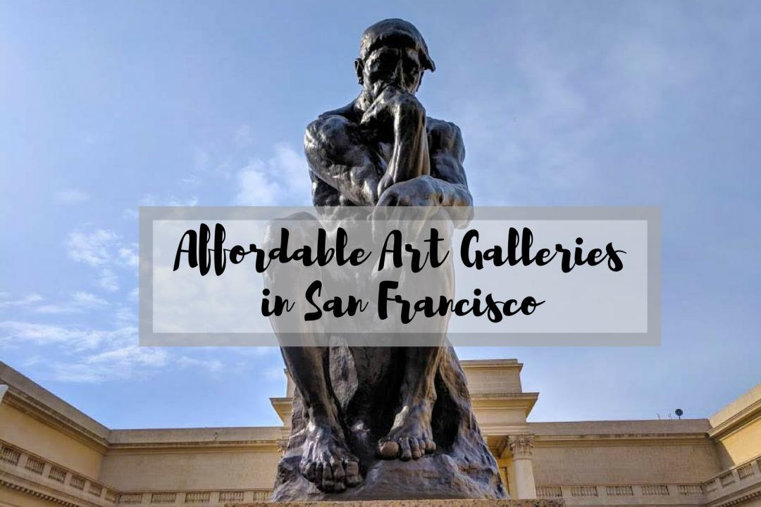 Affordable San Francisco Art Galleries