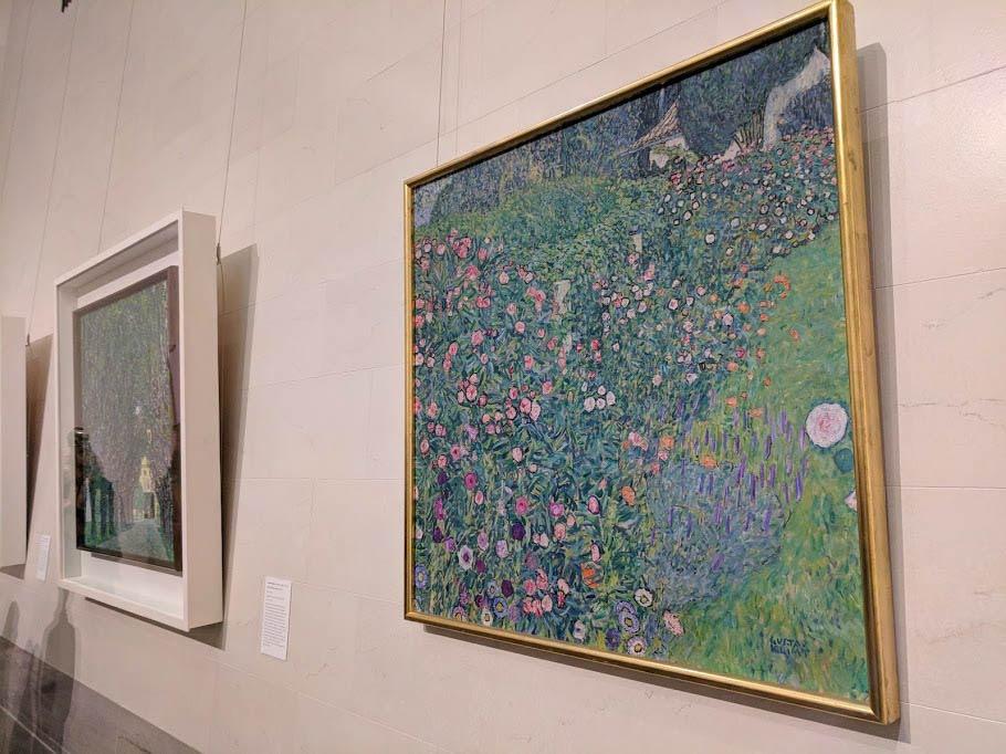 A Garden in Italy by Gustav Klimt