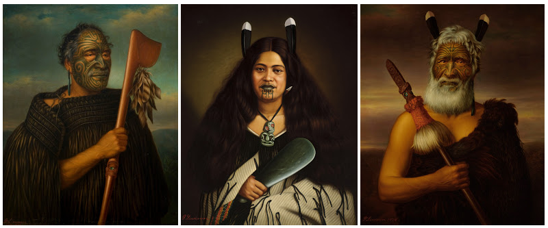The Maori Portraits by Gottfried Lindauer