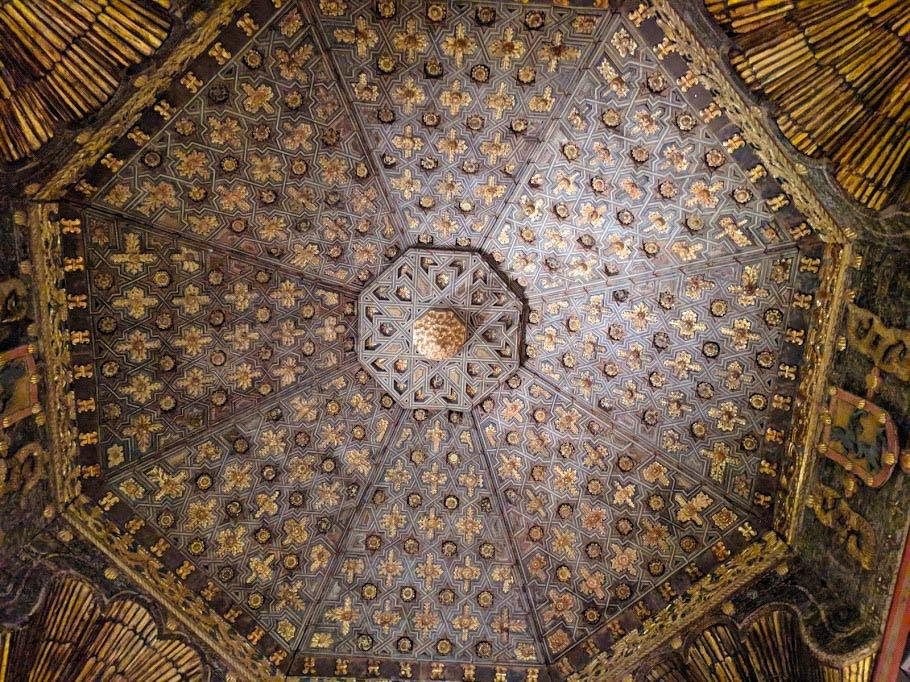Palacio de Altamira ceiling