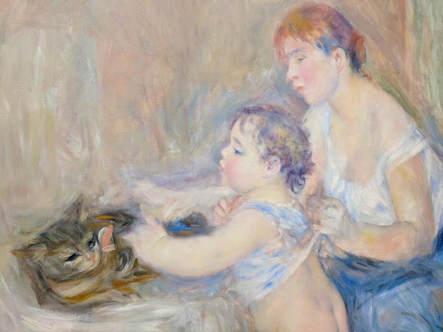 Mother and Child by Auguste Renoir