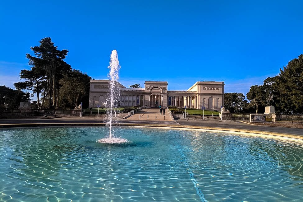 The Legion of Honor art gallery in San Francisco