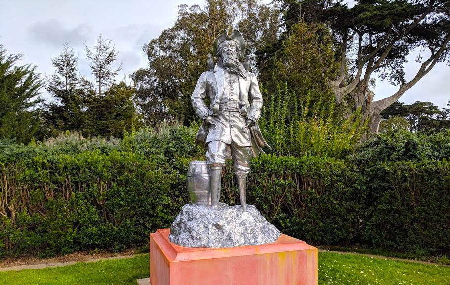 Untitled (Pirate) by Peter Coffin