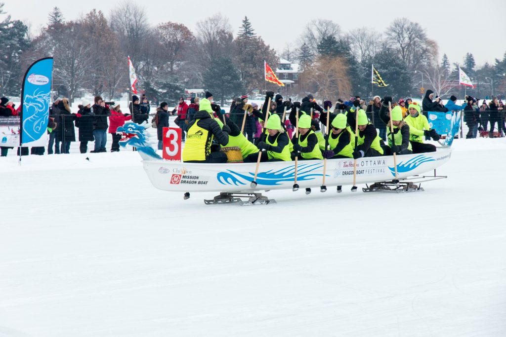Ice Dragon Boat Racing Festival
