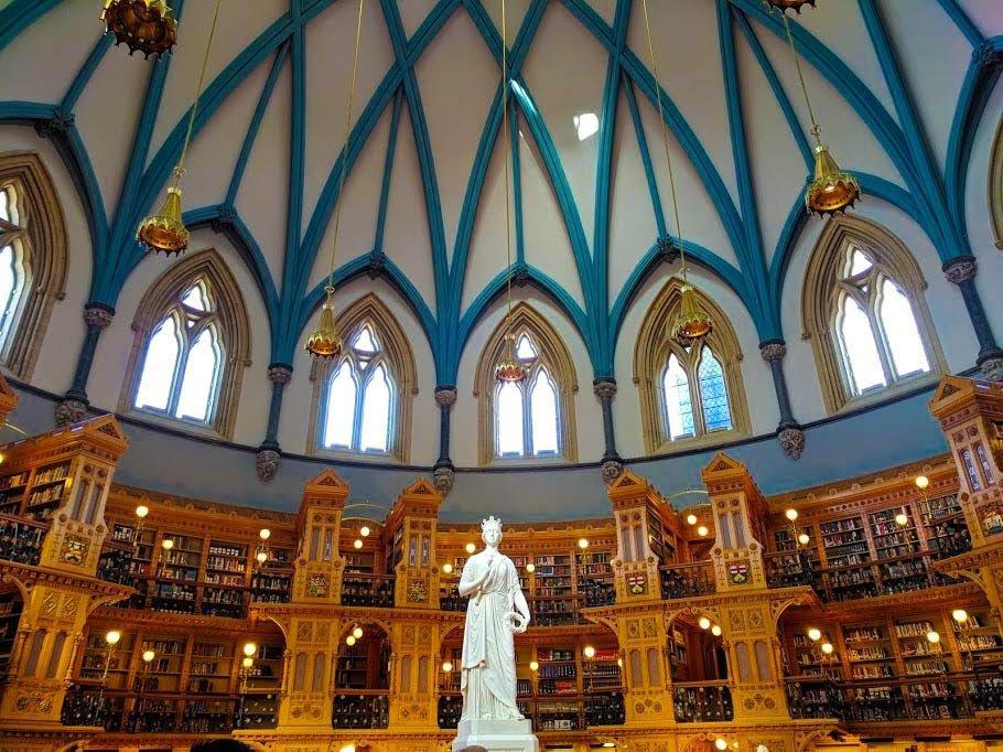 Ottawa-Parliamentary-Library