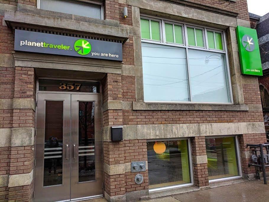 Toronto Eco Accommodation outside shot of Planet Traveler Hostel