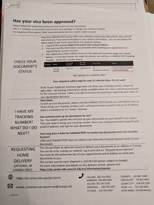 E3 Visa Approval Document