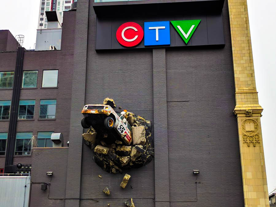CTV News Truck, Toronto
