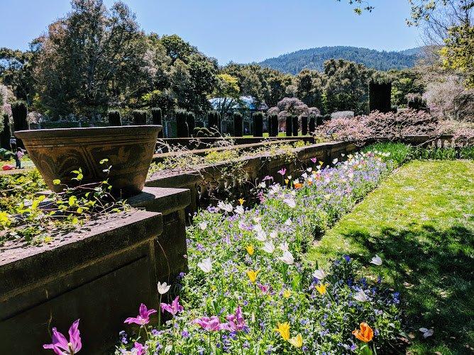 Filoli gardens in San Francisco