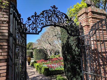 Filoli walled gardens