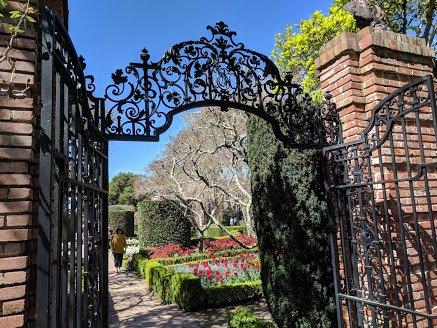 Filoli walled gardens