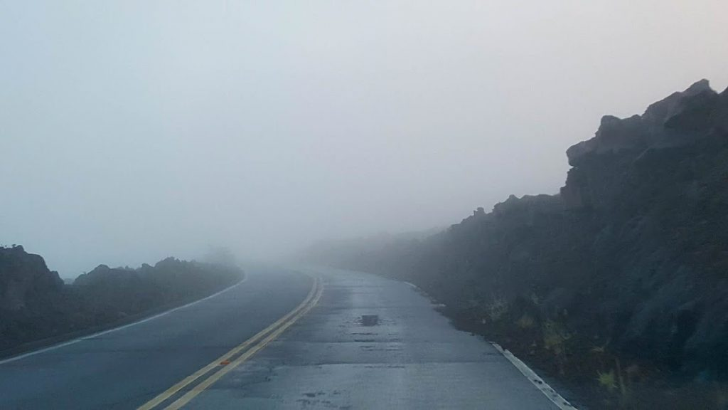 Fog at Haleakala National Park