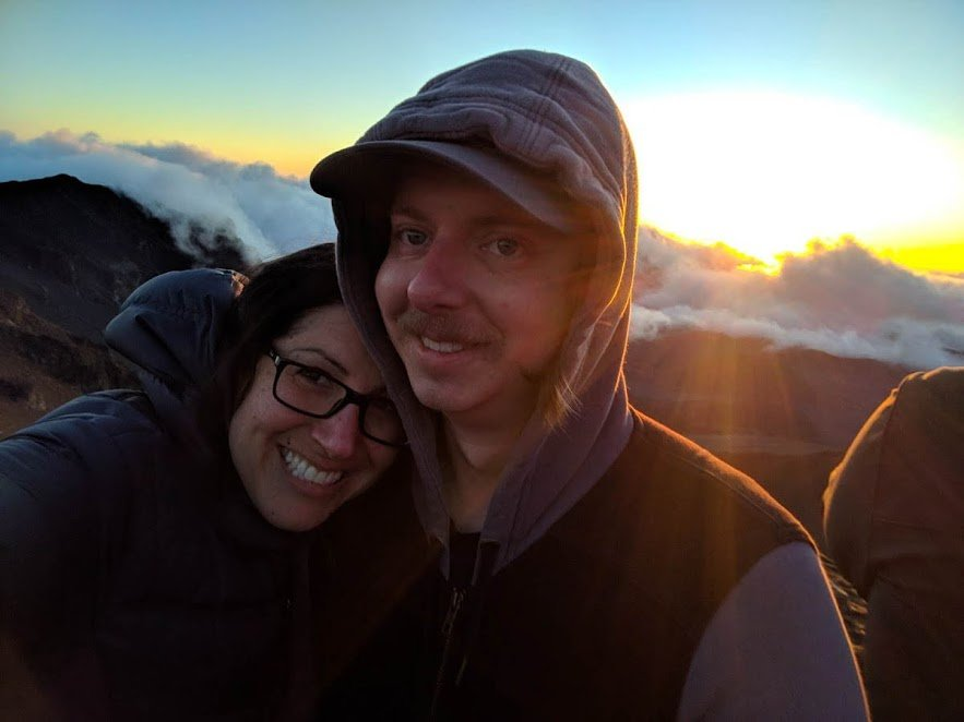 Wear warm clothes to Haleakala volcano