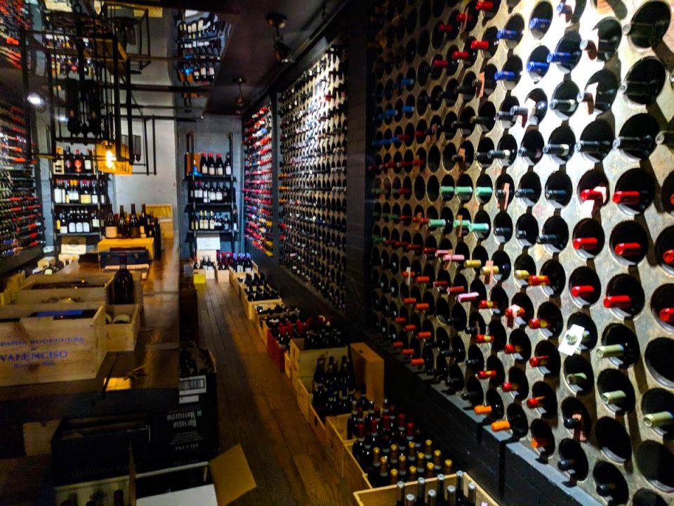 Casa Loma wine cellar