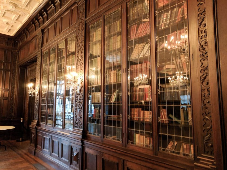 The Library at Casa Loma