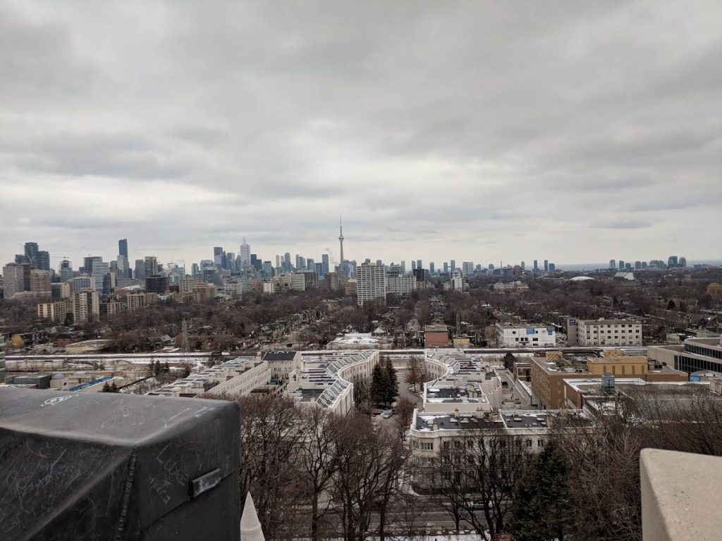 View of Toronto from Casa Loma