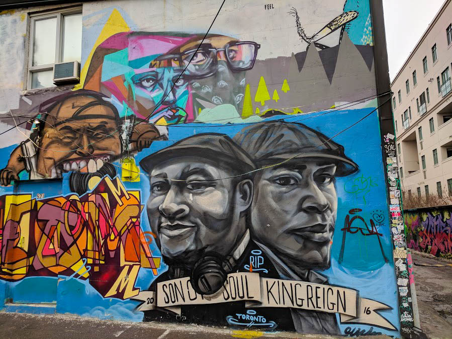 Son of Soul and King Reign Toronto rappers