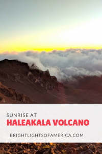 Maui's Haleakala volcano is beautiful at #sunrise. Here are all the tips you need to see the sunrise at #HaleakalaNationalPark.