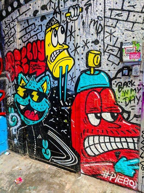 Pieboy street art