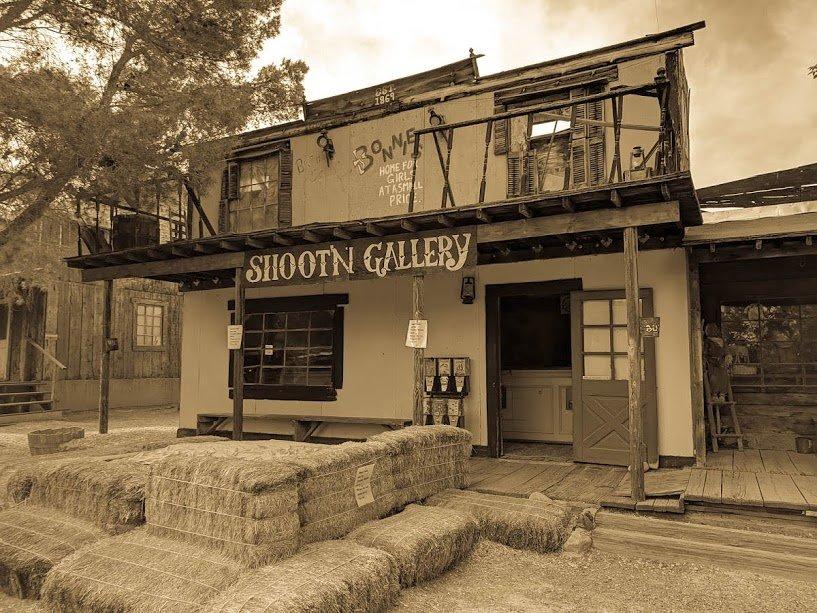 Bonnie Springs Ranch Shooting Gallery
