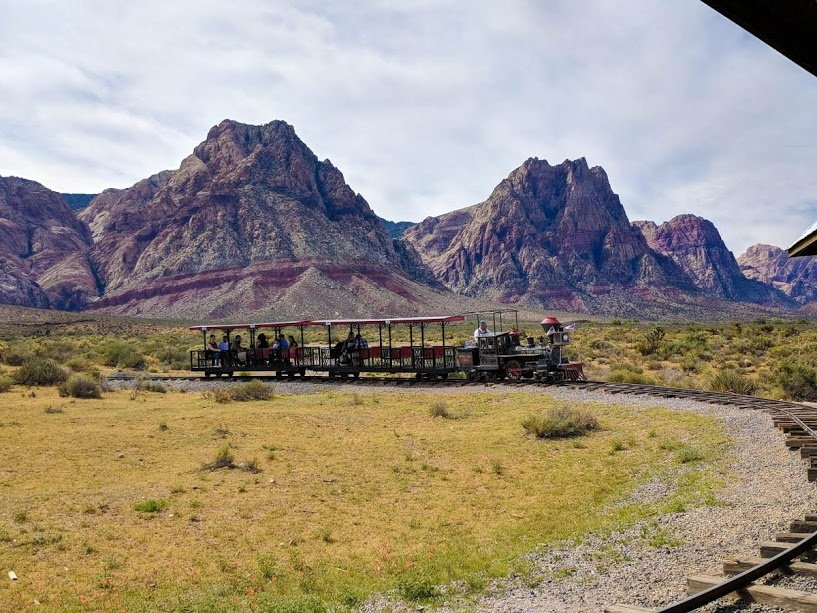 Red Rock Canyon Train
