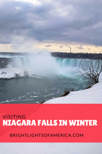 Visit #NiagaraFalls from #Toronto in #Winter. You won't be disappointed!