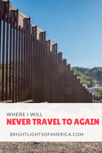 Why I will never travel to #Nogales, Mexico again