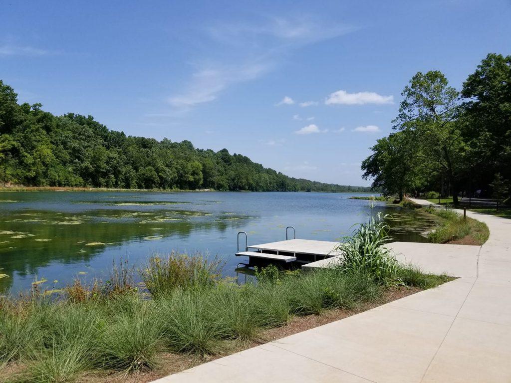 River in Fayetteville, Arkansas