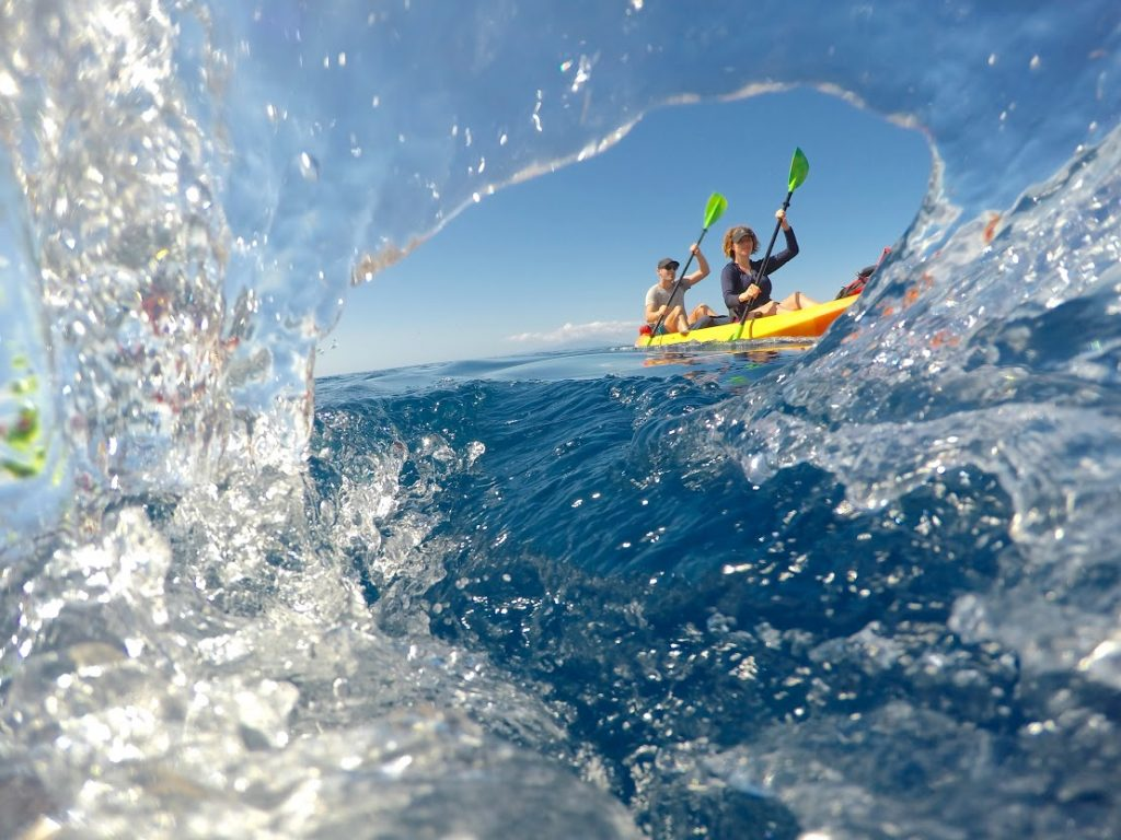 Hawaiian Paddle Sports kayaking and canoeing Maui