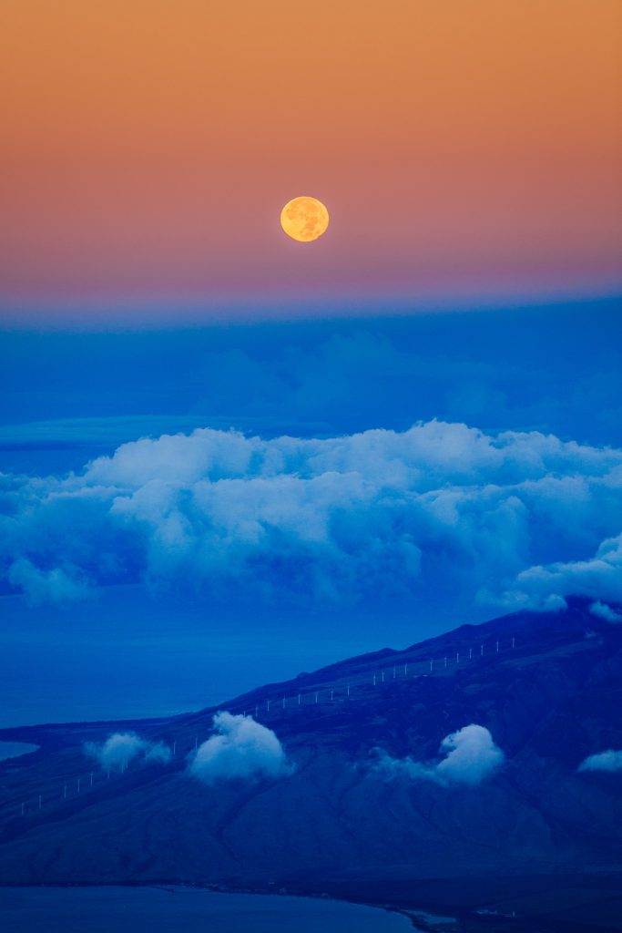Haleakala Volcano in Maui