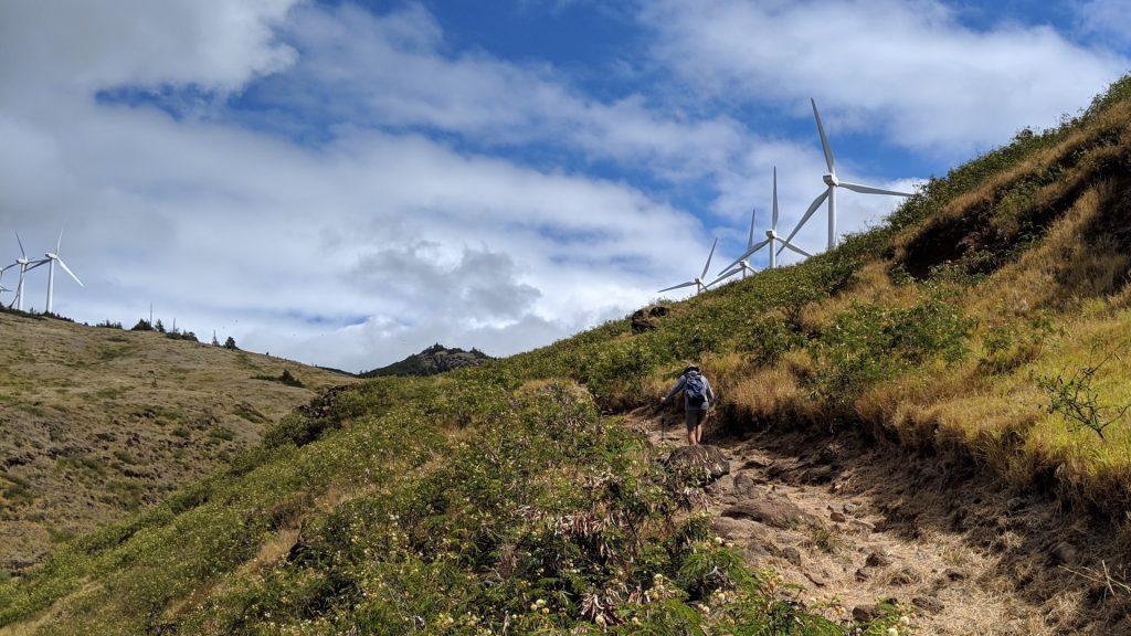 Lahaina Pali Trail in Wailuku
