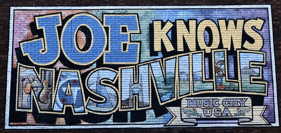 Mural in Nashville, Tennessee