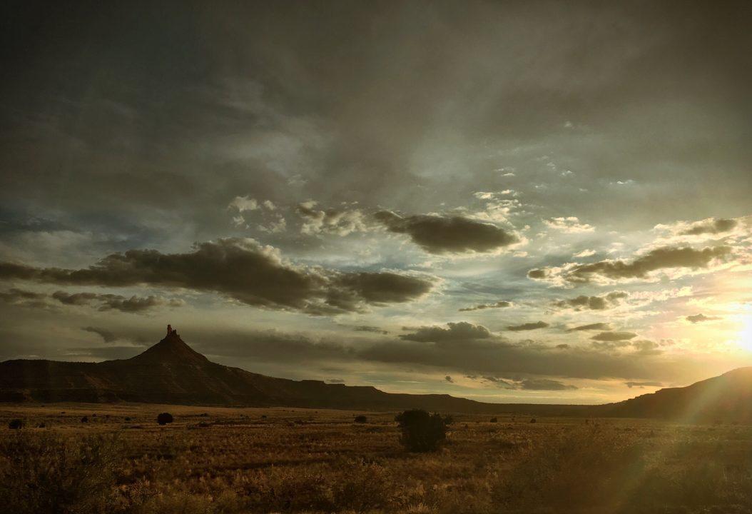 The plains outside of Salt Lake City, Utah