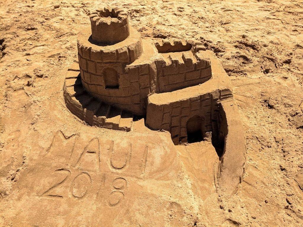 Building Sandcastles in Maui
