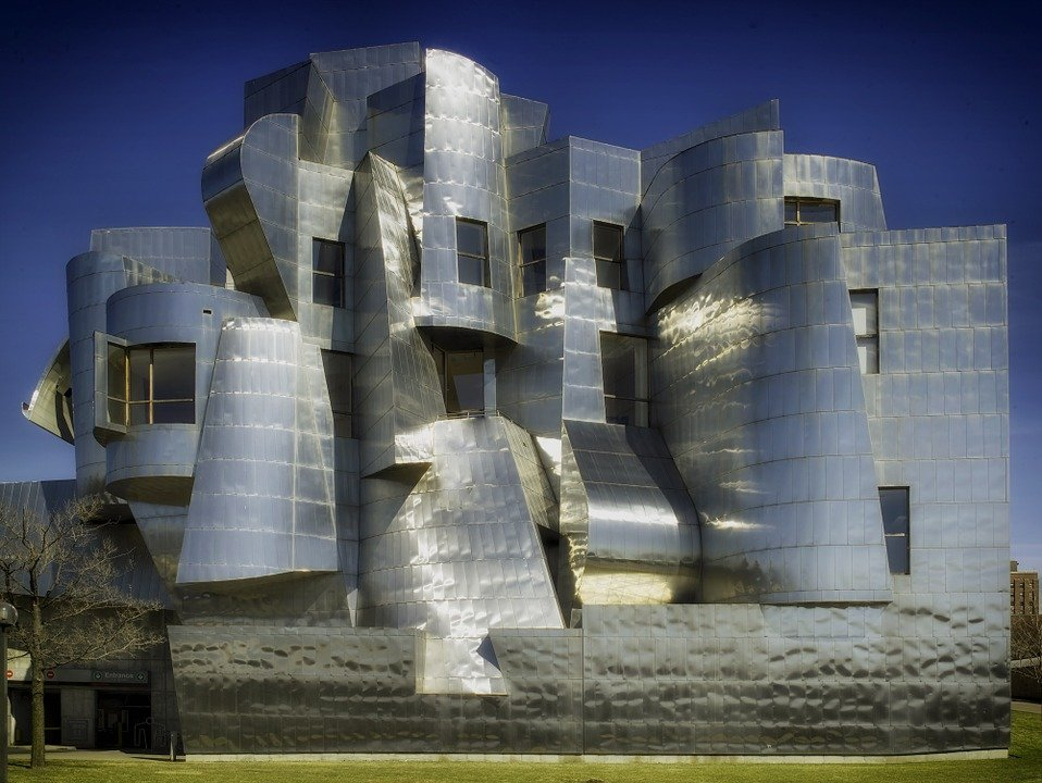 The Weisman Art Museum in Minneapolis, Minnesota