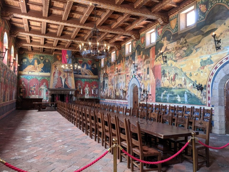 Banquet Hall at Castello di Amorosa