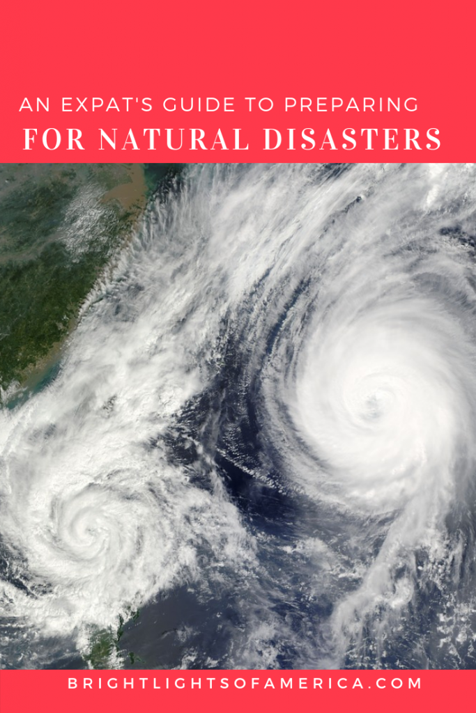 How to prepare for a #hurricane, #tornado, #flood, #wildfire or #typhoon with these tips