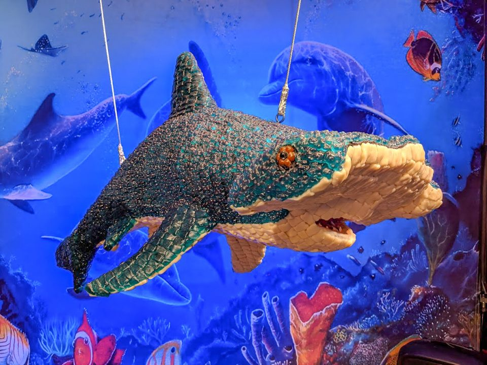 Hammerhead Shark made of candy