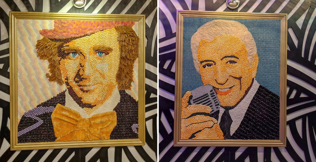 Tony Bennett and Gene Wilder as Willy Wonka