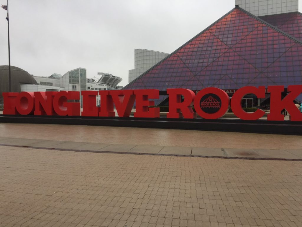 Cleveland's Rock n Roll Hall of Fame