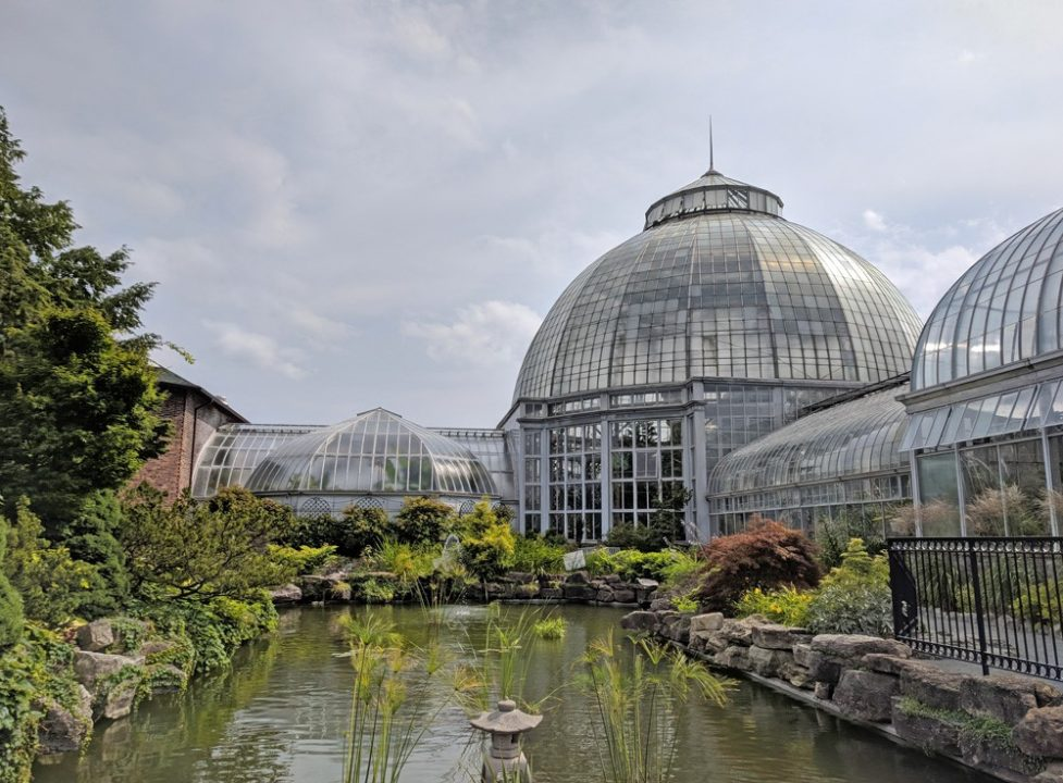 Belle Isle Conservatory on Belle Island