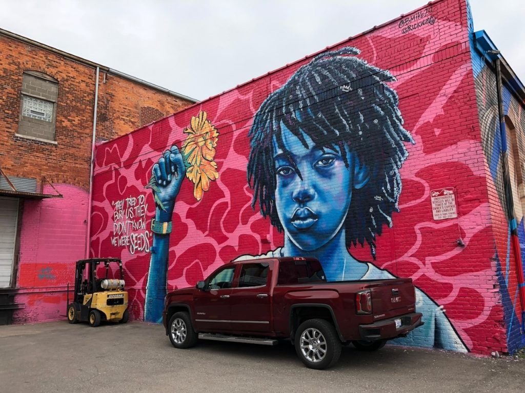 Street Art in Detroit's Eastern Market