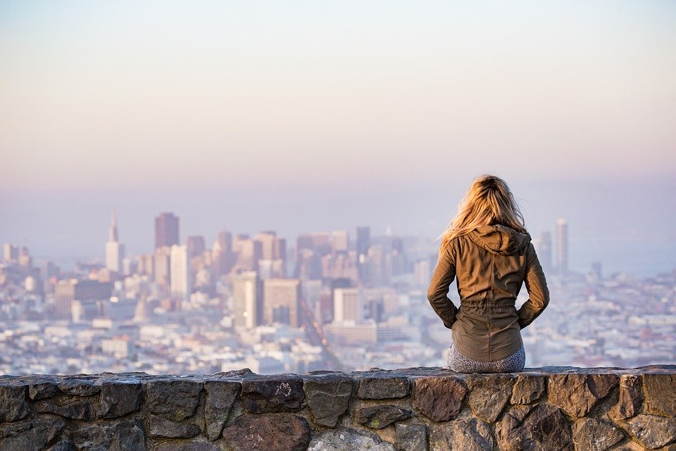 View of San Francisco city