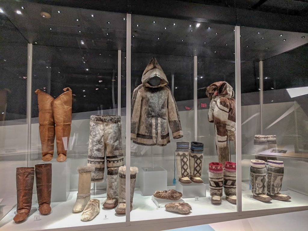 Indigenous Alaskan and Canadian clothing