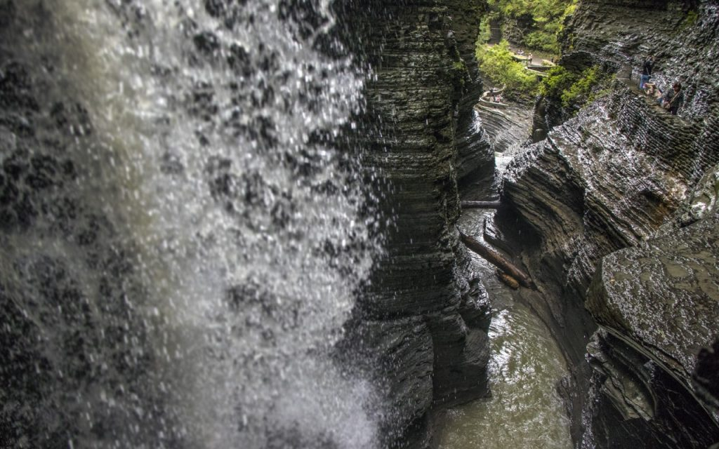 Cavern Cascade at Watkins Glen