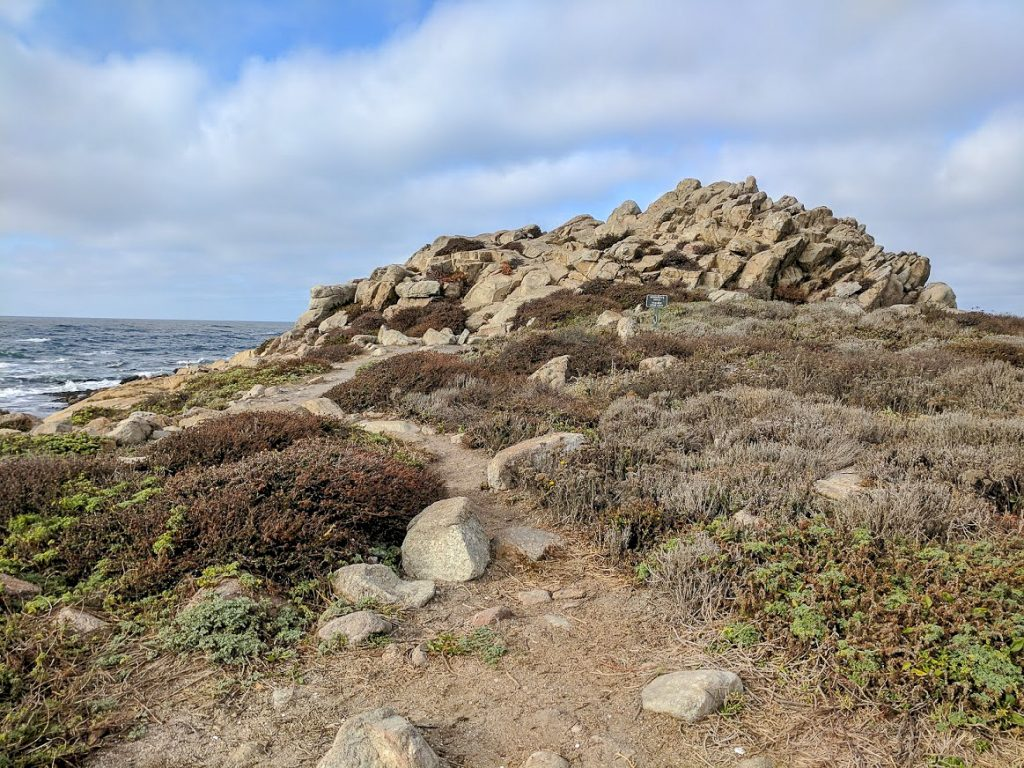 China Rock on 17 Mile Drive Monterey in California