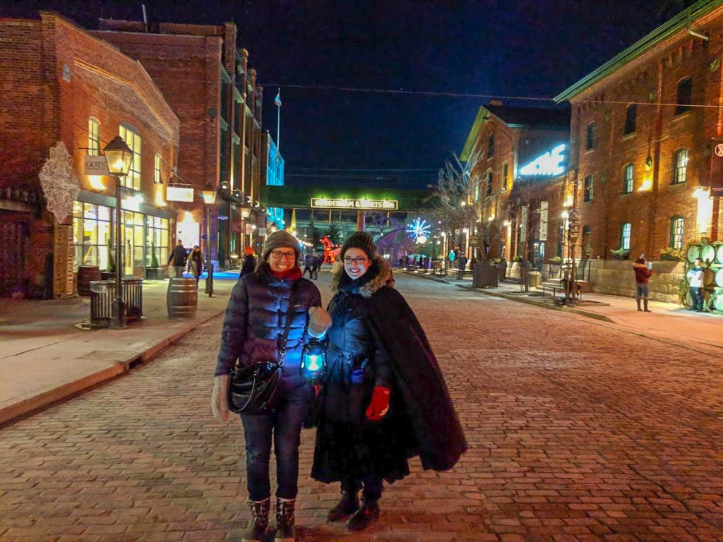 Toronto Distillery Historic District Ghost Tour