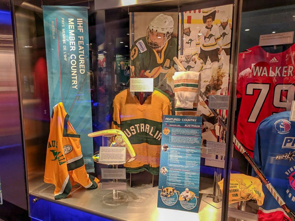 Australian hockey team memorabilia