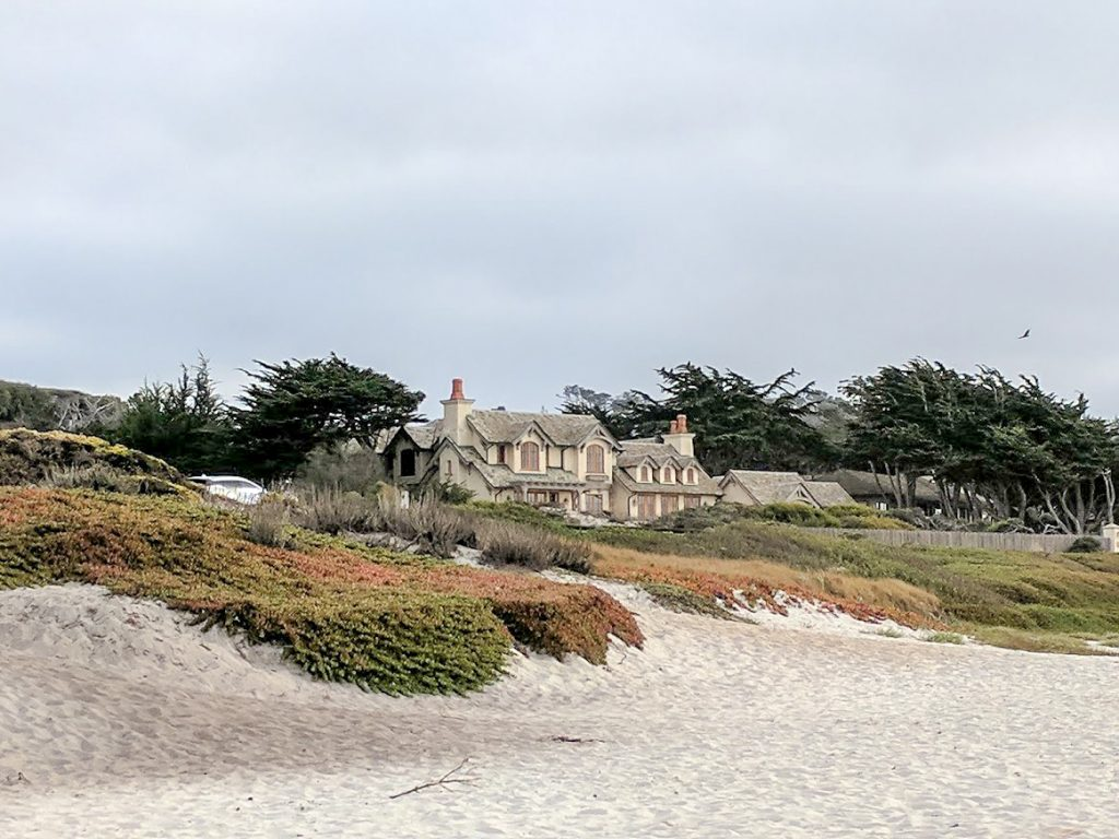 House on 17 Mile Drive Monterey, California