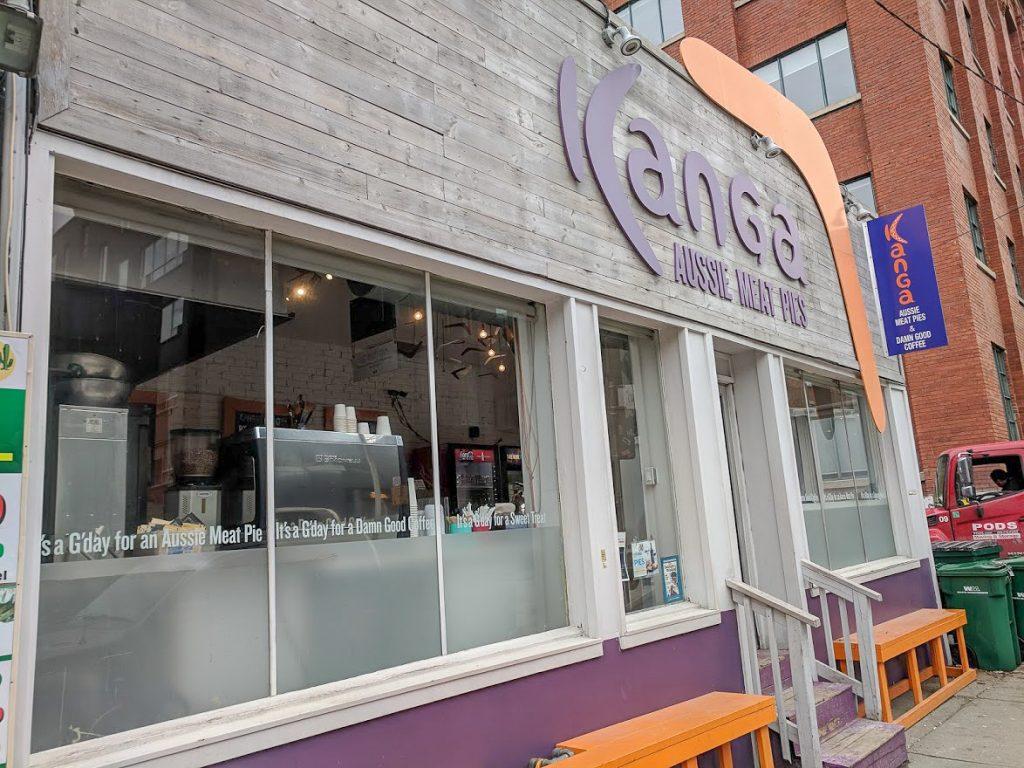 Australian Meat Pie shop in Toronto